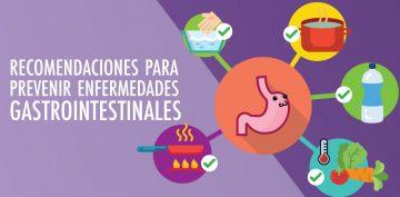 Recomendaciones para prevenir enfermedades gastrointestinales